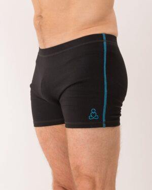 Bakasana-shorts-blue-side-stitch