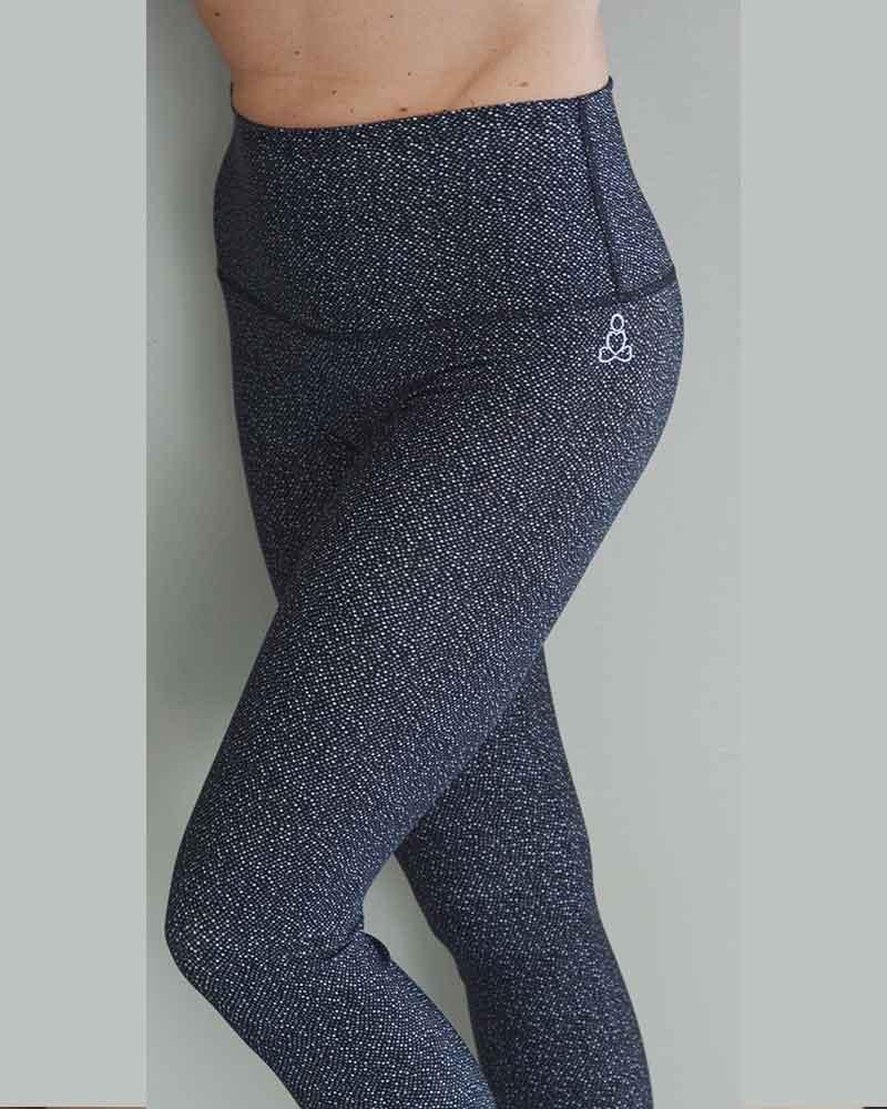 Sweat-n-Stretch-hot-yoga-pants-monotone-dots