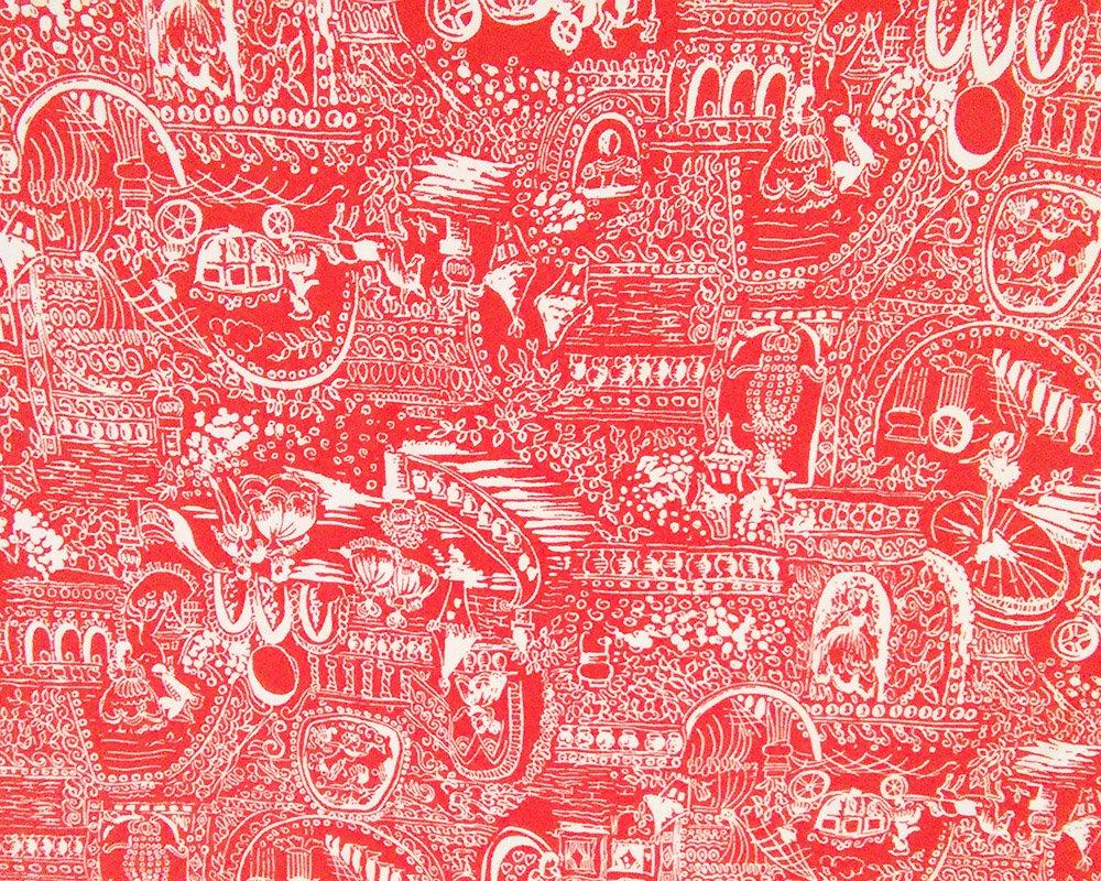 Salmon-Toile-print
