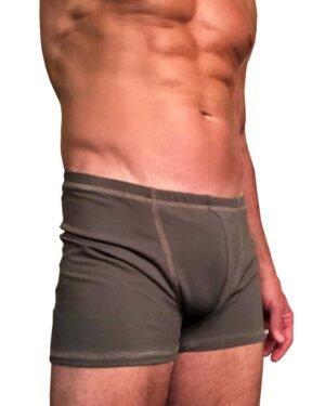 Padmasana-yoga-shorts-Midi-Sage-green