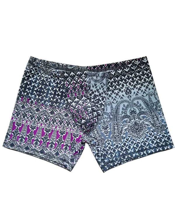 Mens-yoga-shorts-Arabesque-grey